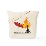 Hindendog Tote Bag