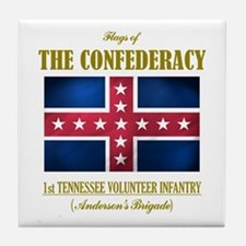 1st Tennessee Volunteers Tile Coaster