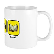 Eat, sleep, read Mug