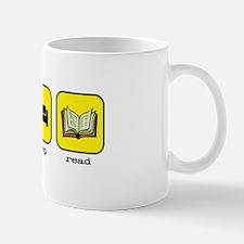 Eat, sleep, read Mug