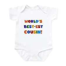World's Best-est Cousin Infant Bodysuit