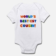 World's Best-est Cousin Infant Bodysuit