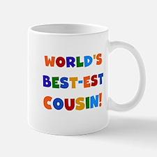 World's Best-est Cousin Mug