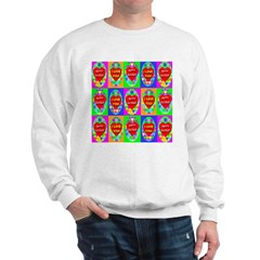 Fifteen Perfect Easter Eggs O Sweatshirt