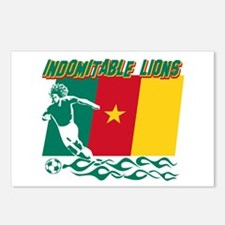 Indomitable Lions Cameroon Postcards (Package of 8