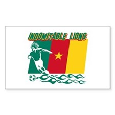Indomitable Lions Cameroon Decal
