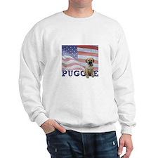 Patriotic Puggle Sweatshirt
