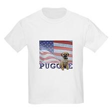 Patriotic Puggle T-Shirt