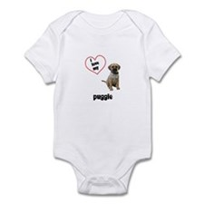 Puggle Lover Infant Bodysuit