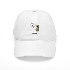 Puggle Lover Baseball Cap