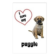 Puggle Lover Postcards (Package of 8)