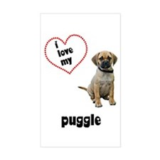 Puggle Lover Decal