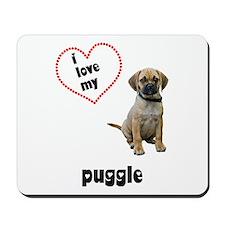 Puggle Lover Mousepad