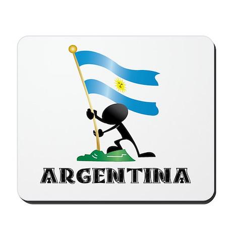 argentina bandera Mousepad