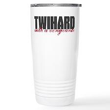 Twihard with a Vengeance Travel Mug
