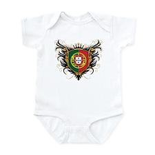 Portugal Crest Infant Bodysuit