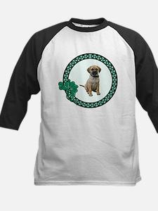 Irish Puggle Kids Baseball Jersey
