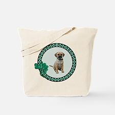 Irish Puggle Tote Bag