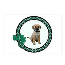 Irish Puggle Postcards (Package of 8)