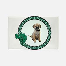 Irish Puggle Rectangle Magnet