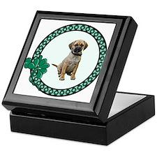 Irish Puggle Keepsake Box