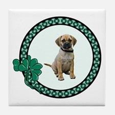 Irish Puggle Tile Coaster