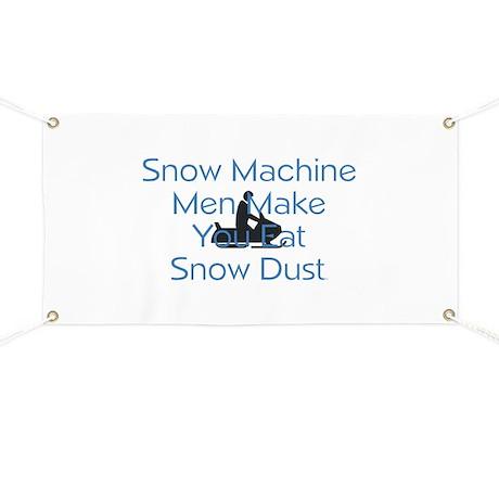 TOP Snow Machine Banner