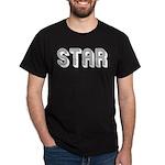 STAR (Metro) Black T-Shirt