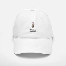 Easter Bunny Puggle Baseball Baseball Cap