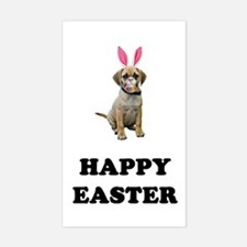Easter Bunny Puggle Decal