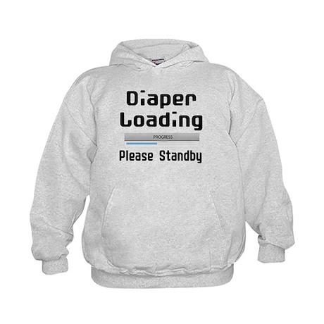 Diaper Loading Kids Hoodie