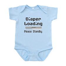 Diaper Loading Infant Bodysuit