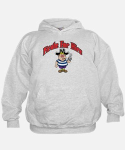 Pirate For Hire Boy Hoodie