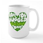 Hug a Vegetarian Large Mug