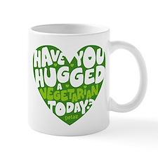 Hug a Vegetarian Mug