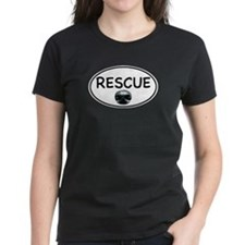 Rescue Nose White Oval Tee
