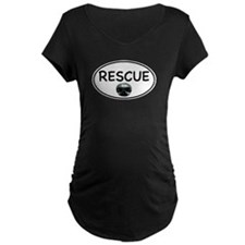 Rescue Nose White Oval T-Shirt
