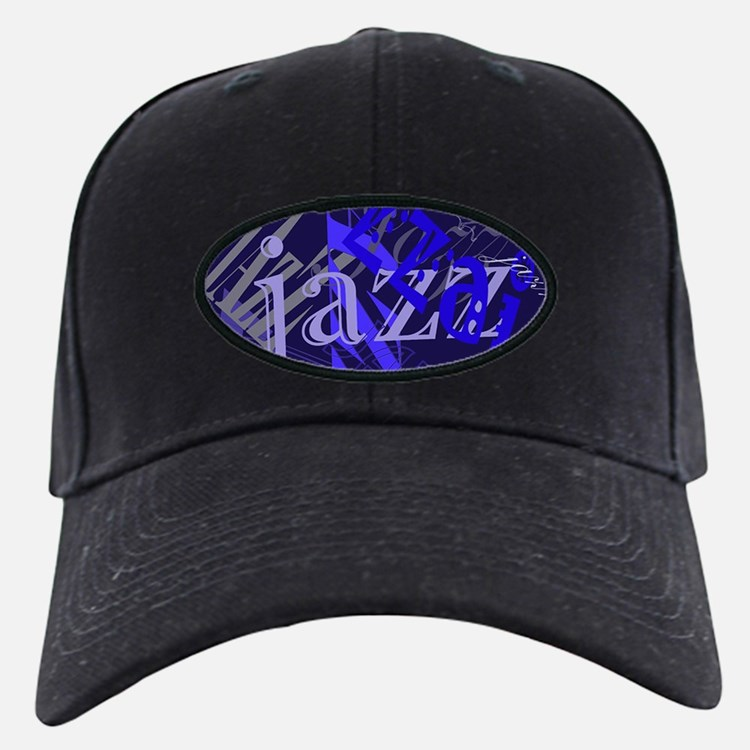 Jazz Black and Blue Baseball Hat