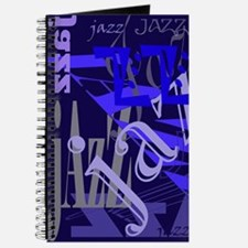 Jazz Black and Blue Journal