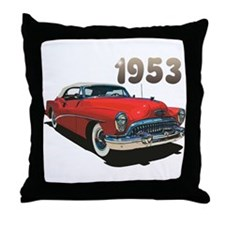 The 1953 Throw Pillow