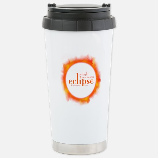Eclipse Stainless Steel Travel Mug