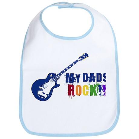 Rock On Dads!! Bib