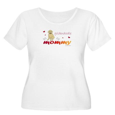 goldendoodle Women's Plus Size Scoop Neck T-Shirt