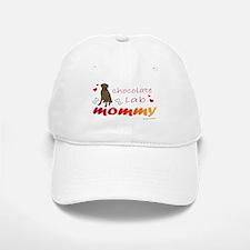 chocolate lab Baseball Baseball Cap