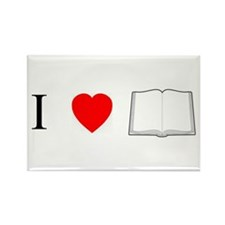 Bibliophile Rectangle Magnet