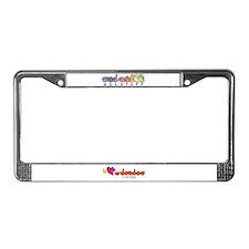 I-L-Y Grandma License Plate Frame