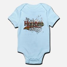 Hunter Tartan Grunge Infant Bodysuit