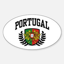 Portugal Sticker (Oval)