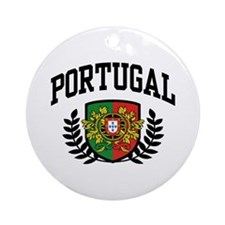Portugal Ornament (Round)