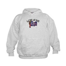 Born on the 4th Clown Kids Hoodie